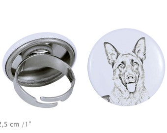 Ring with a dog - German Shepherd