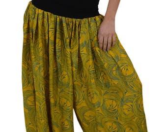 Harem Pants Silk pants Baggy Pants Party Pants Boho Hippie chic Festival style Pants