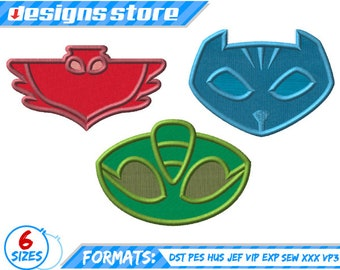 pj mask logo etsy