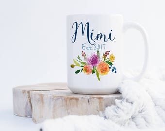 Grammy Coffee Mug - Pregnancy Announcement - Birthday Gift