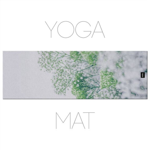 Flowers Yoga Mat, Nature Photography, Yoga Accessory, Home Decor, Yoga Mats