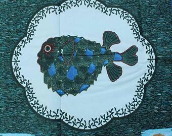Undersea Print Fabric