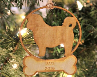 Personalized Dog Christmas Ornament, Pet Memorial Ornament, Unique Pet Owner Gift, Pet Christmas Ornament, Dog Ornament, Dog Lover Gift