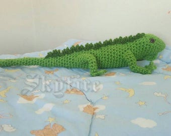 Iguana Plush Made to Order