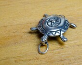Turtle Charm in Sterling Silver CLOSEOUT!