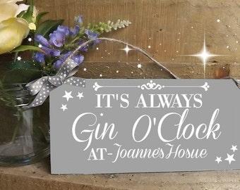 Gin O Clock Etsy