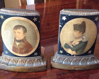 Borghese Napoleon Vintage Bookends
