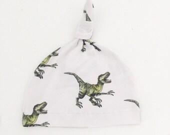 SALE - Baby Beanie, Baby Knot Hat, Baby Hat - Raptors