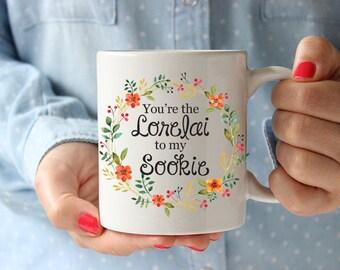 Gilmore Girls Coffee Mug, You're the Lorelai to my Sookie Mug, BFF Mug, Friends Mug