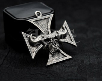 Danzig THRALL Iron Cross Lucifuge Necklace Misfits Samhain ACME brand Exclusive