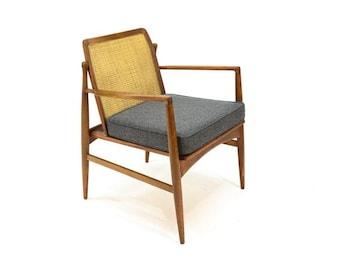 Cane Back Armchair by Kofod Larsen for Selig (U73SZE)