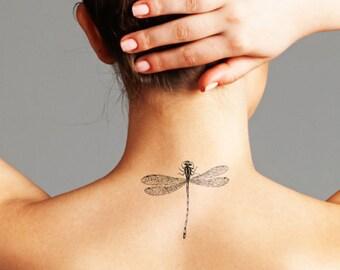 Drangonfly - Temporary Tattoo (Set of 2)