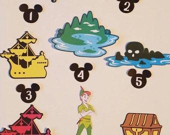 Disney's Peter Pan Individual  printed die cuts  ****Choose from 19 different die cuts****