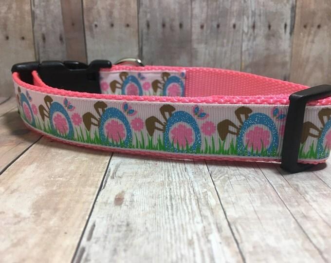 "The Lulu   Designer 1"" Width Dog Collar   CupcakePups Collars   Medium/Large Dog Collar"