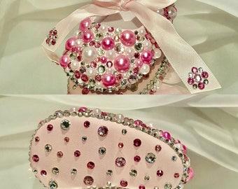 Infant Bling Baby Ballet Ribbon toe Shoes Pearl Baby Shoes, Ribbon Ballet, Ribbon Rhinestone Ballet Shoe, Ballet, Wedding, Baptism