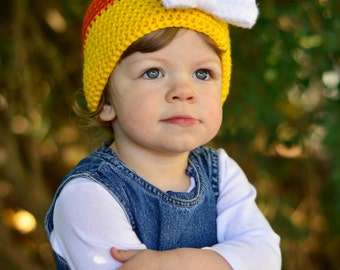 Baby Candy Corn Hat, Child Candy Corn Hat, Baby Photo Prop, Baby Halloween Hat, Baby Halloween Outfit, Candy Corn Hat, Halloween Photo Prop