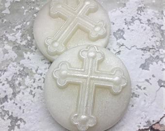 12 Cross Soap Favors, Soap Favors, Bapstim Favor , Christening Favor , Cross Favor