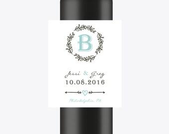 Engagement Wine Labels | Custom Wedding Wine Labels | Set of Personalized Labels | Wedding Labels | Engagement Labels