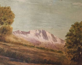 Colorado Landscape 1922 painting