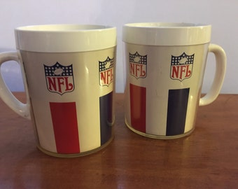 NFL Thermo serve coffee cups