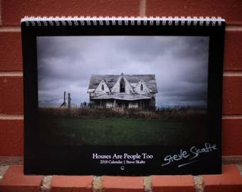 Houses Are People Too / 2018 photography calendar / 11x14 inches