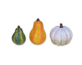 Fairy Garden  - Gourds Set of 3 - Miniature