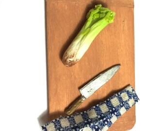 Artisan Single Celery ~ Miniature Food ~ Dolls House Miniatures