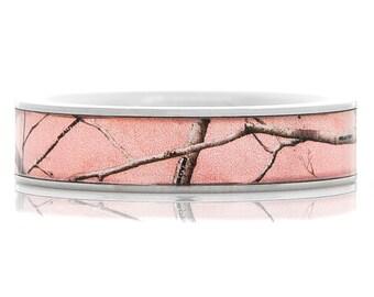 Women's Pink Realtree AP Camo Ring