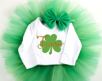 St Patricks Day Baby Outfit - St Patricks Baby Outfit - Personalized St. Patricks Day Shirt - Baby St Patty Shirt - Baby St Patricks Day