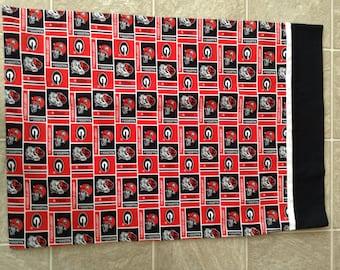 University of Georgia Bulldogs pillowcase