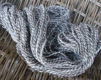 Handspun Jacob Yarn for Knitting, Crochet and Crafts