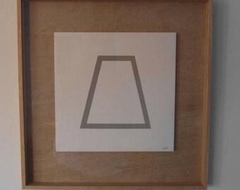 Sol Lewitt, Geometric Figure
