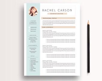 kreativ und modern lebenslauf vorlage 3 seite cv vorlage anschreiben instant download fr - Word Lebenslauf Vorlage