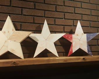 """14"""" Wooden Star"""
