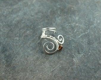 earcuff, spiral