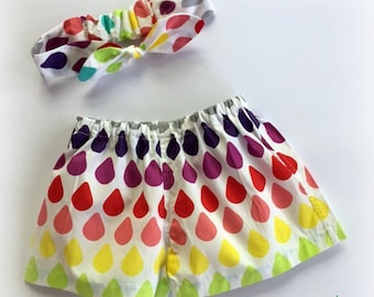 ON SALE!! Baby Girls Shorts and Headband Set - Size 0