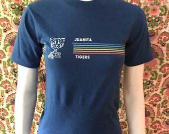 Vintage Juanita Tigers T-shirt