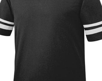 Black Stripe Jersey Shirt Upgrade