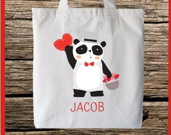 Adorable Panda Tote bag Personalize ~ Customize
