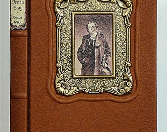 1964 ~ The PICTURE Of DORIAN GRAY ~ by Oscar Wilde, Restored & Rebound in Leather