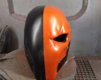 Deathstroke Arkham:  Origins Raw Cast Helmet