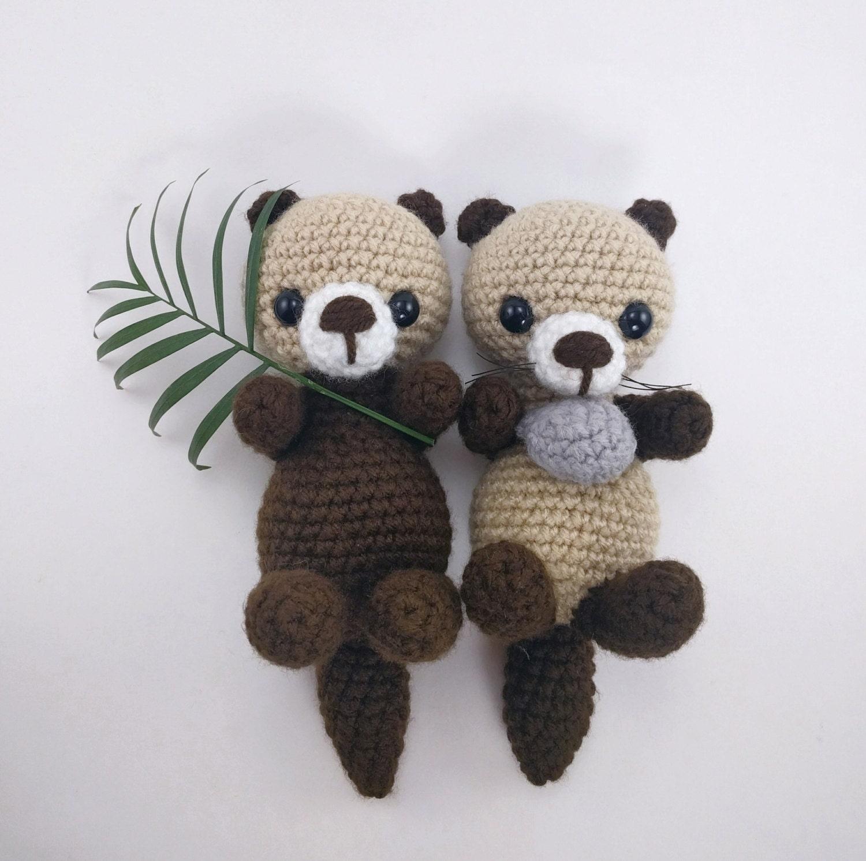 Ponyta Amigurumi Pattern : PATTERN: Crochet otter pattern - amigurumi otter ...