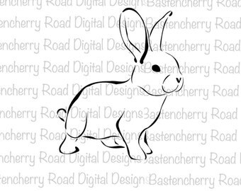 Easter svg, Easter Bunny svg, Bunny svg, Rabbit svg, Cut File, Cricut, Silhouette, Instant Download, svg Design, Vinyl, svg