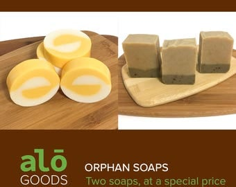 Soap Set - Spring Soaps | Orange Soap | Dandelion Soap | Handmade Soaps | Soap Sales | Cold Processes Soap
