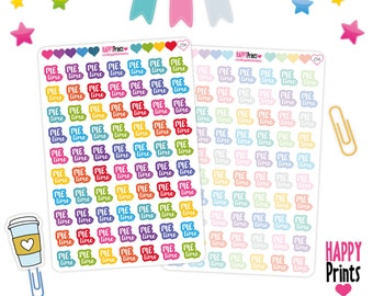 254)- Me Time Planner Stickers