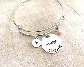 Anniversary Gifts for Women - Always Bracelet - Anniversary Gifts - Gift for Wife