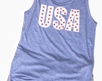 Labor Day Women's Tank Top | Labor Day Tank Top | Labor Day Shirt | Labor Day Plus Size Tank Top | Red White Blue Tank | USA Tank Top