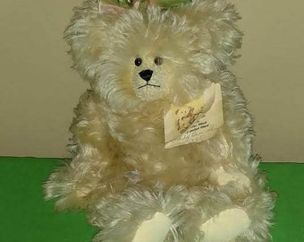"""Vintage 10"""" """"Abby Bear"""" by Artist Terry Hayes of Pendleton's Teddy Bears"""