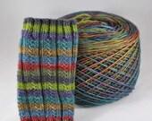 "Self-Striping Yarn - ""Outlander"" (Beartooth Base)"