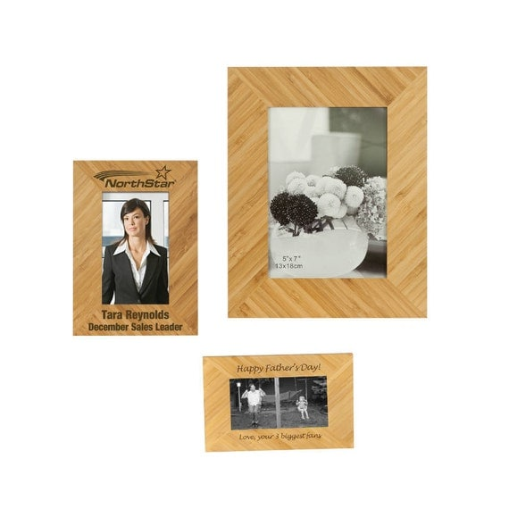 Wedding Gift For Boss: 4x6 Personalized Picture Frame, Custom Photo Frame